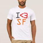 "I ""heart"" SF T-Shirt"