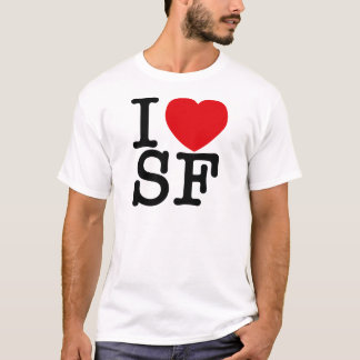 I 'heart' SF T-Shirt