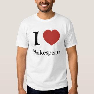 I Heart Shakespeare Tee Shirt