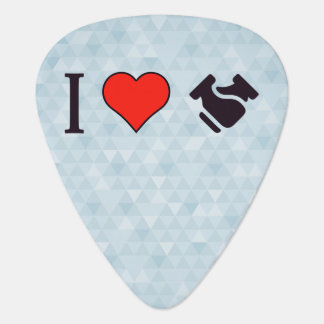 I Heart Shaking Hands Guitar Pick