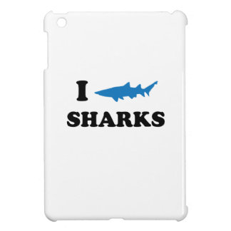 I Heart Sharks iPad Mini Covers