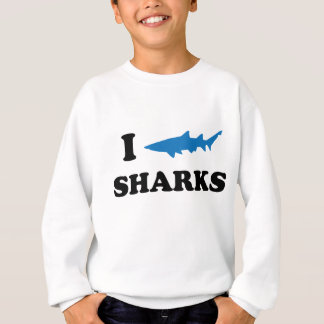 I Heart Sharks Sweatshirt