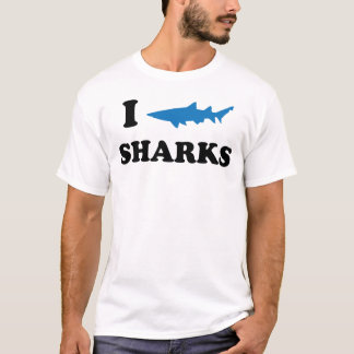 I Heart Sharks T-Shirt
