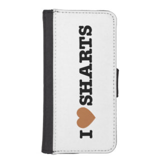 I Heart Sharts Funny Graphic Phone Wallet