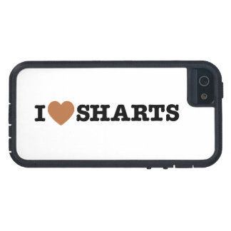 I Heart Sharts Funny Icon Graphic iPhone SE/5/5s Case