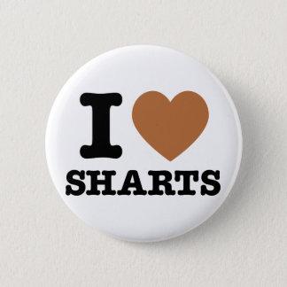 I Heart Sharts Pinback Button