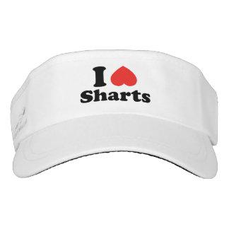 I Heart Sharts Visor