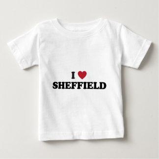 I Heart Sheffield Great Britain Baby T-Shirt