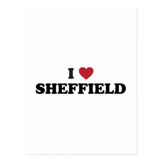 I Heart Sheffield Great Britain Postcard
