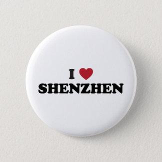 I Heart Shenzhen China Button