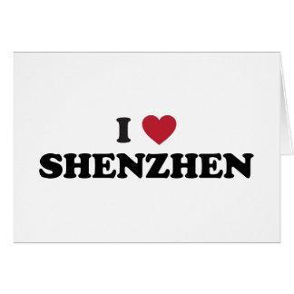 I Heart Shenzhen China Card