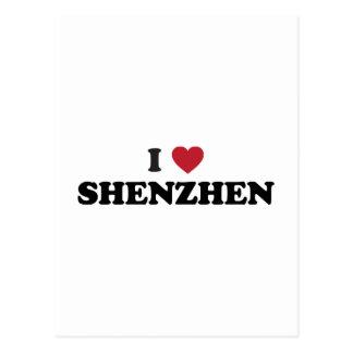 I Heart Shenzhen China Postcard