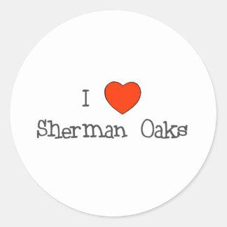 I Heart Sherman Oaks Round Sticker