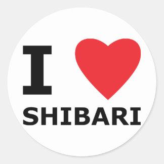 I Heart Shibari, Sticker Sheet in Romaji