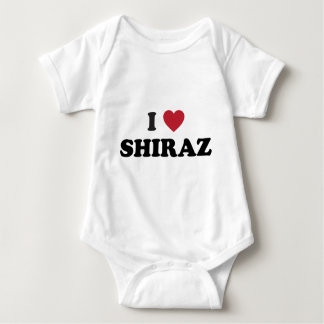 I Heart Shiraz Baby Bodysuit