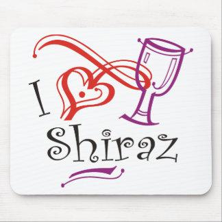 I Heart Shiraz Mouse Pad