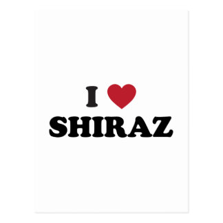 I Heart Shiraz Postcard
