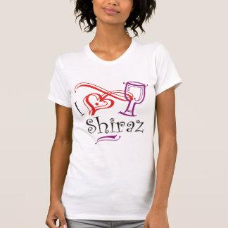 I Heart Shiraz Tee Shirts