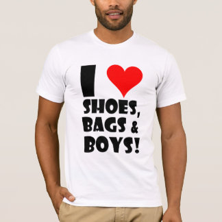 I Heart Shoes Bags & Boys T-Shirt