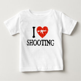 I Heart Shooting Baby T-Shirt