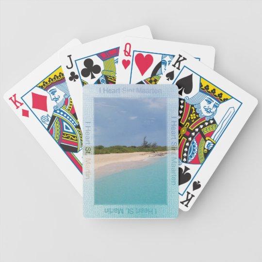 I Heart Sint Maarten Playing Cards