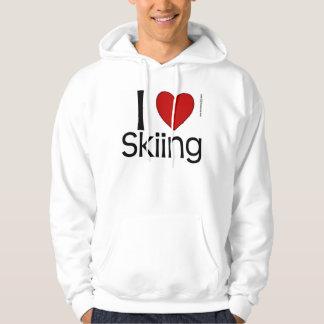 I Heart Skiing Sweatshirt