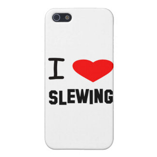 I Heart slewing iPhone 5 Cases