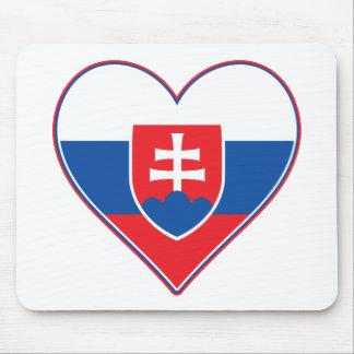 I Heart Slovakia Mouse Pad