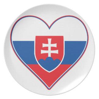 I Heart Slovakia Plates