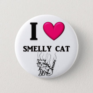 """I """"Heart"""" Smelly Cat Button"""