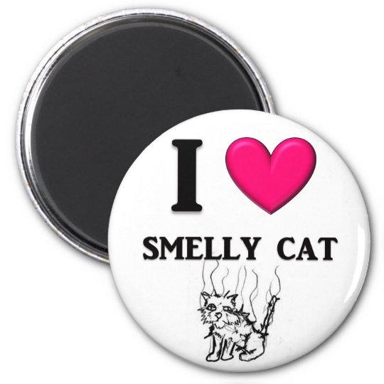 "I ""Heart"" Smelly Cat Magnet"
