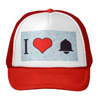 I Heart Snoozing My Alarm Trucker Hat