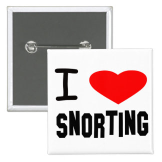 I Heart Snorting Button