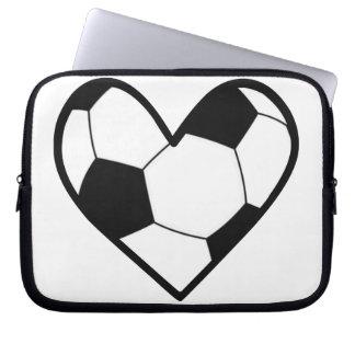 I Heart Soccer Computer Sleeve
