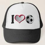 I Heart Soccer Trucker Hat