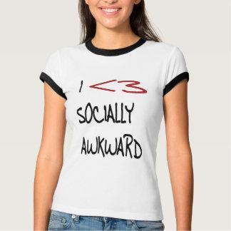 I Heart Socially Awkward T-Shirt