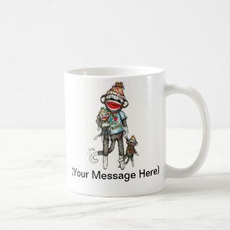 I Heart Sock Monkeys Coffee Mug