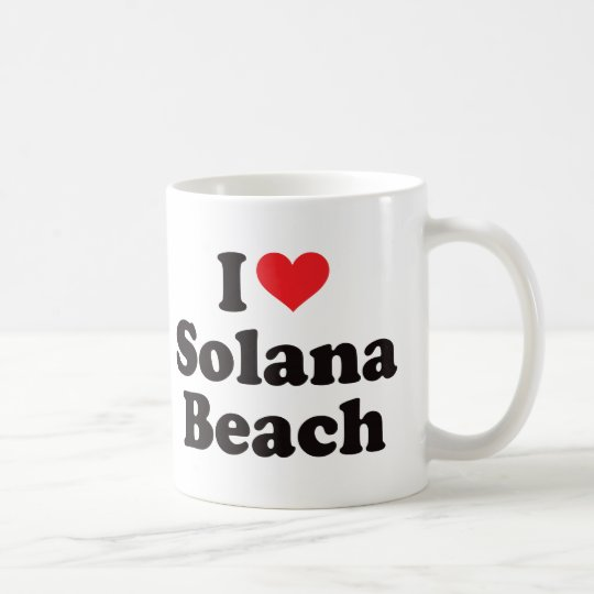 I Heart Solana Beach Coffee Mug