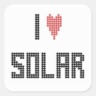 I Heart Solar - Sticker