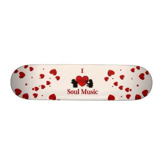 I Heart Soul Music Skateboard