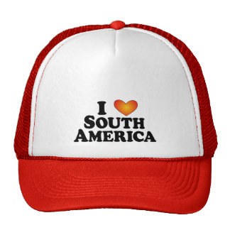 I (heart) South America - Lite Multi-Products Trucker Hat