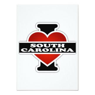 I Heart South Carolina Card