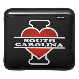 I Heart South Carolina iPad Sleeve