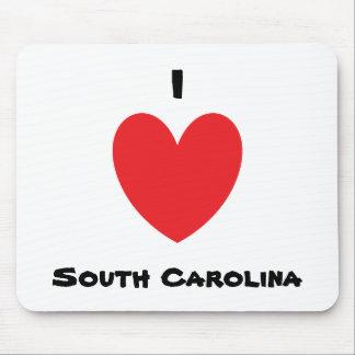 I Heart South Carolina Mousepad