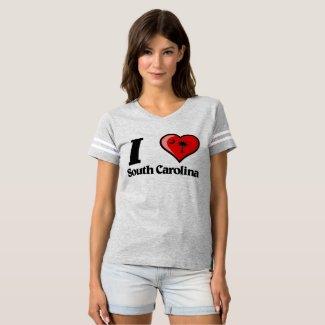 I *HEART* South Carolina T-Shirt
