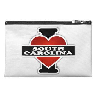 I Heart South Carolina Travel Accessory Bags