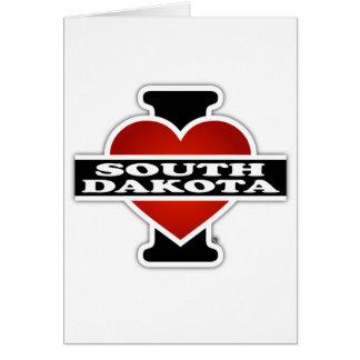 I Heart South Dakota Card
