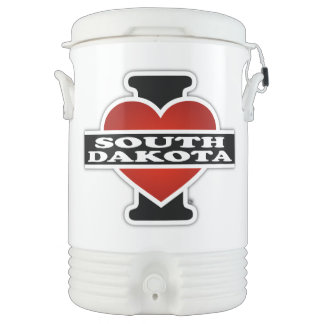 I Heart South Dakota Cooler