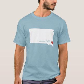 I Heart South Dakota - Customizable City T-Shirt