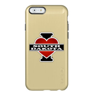 I Heart South Dakota Incipio Feather® Shine iPhone 6 Case